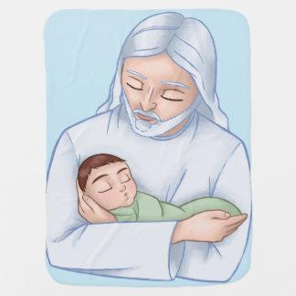Heavenly Baby Receiving Blanket