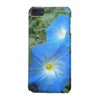 Heavenly Blue Morning Glories iPod Touch case