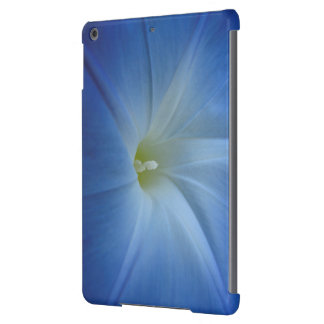 Heavenly Blue Morning Glory Close-Up iPad Air Covers