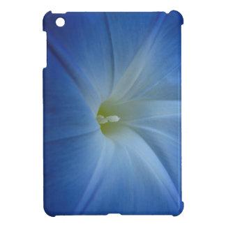 Heavenly Blue Morning Glory Close-Up iPad Mini Covers