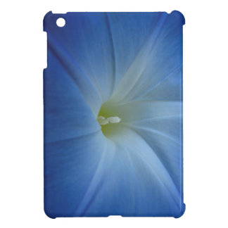 Heavenly Blue Morning Glory Close-Up iPad Mini Covers