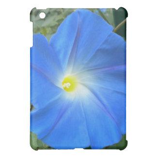 Heavenly Blue Morning Glory iPad case