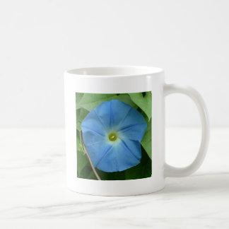 Heavenly Blue Morning Glory Coffee Mug