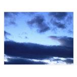Heavenly Blue Postcard