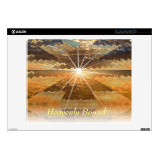Heavenly Bound Laptop Decal