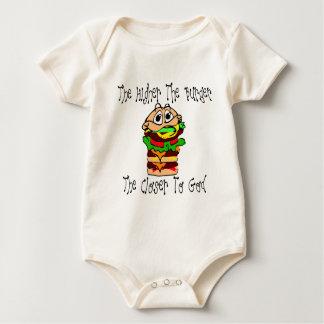 Heavenly Burgers Baby Bodysuit