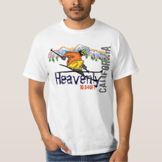 Heavenly California ski elevation value tee