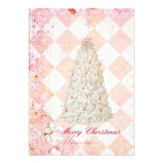 Heavenly Christmas pocket/purse card Custom Announcements