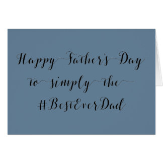 Heavenly Cloud Sky Blue Father's Day Card