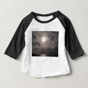 Beach Themed heavenly clouds baby T-Shirt