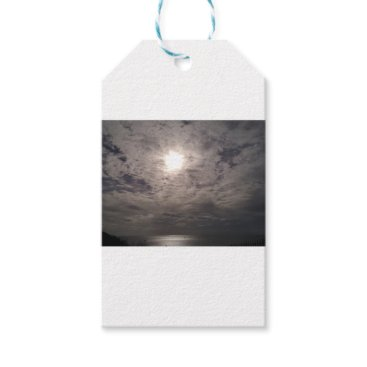 Beach Themed heavenly clouds gift tags