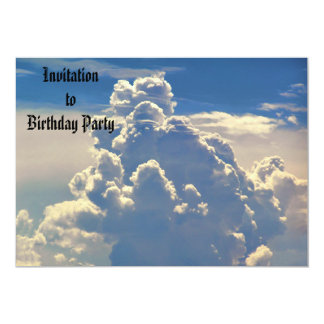 Heavenly Clouds Invitation