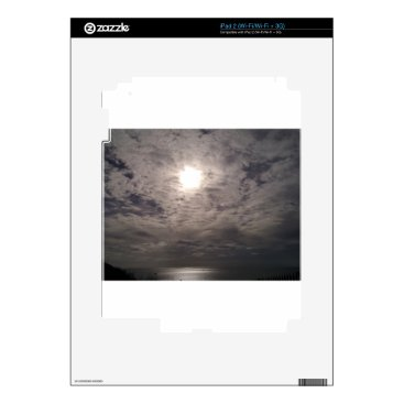 Beach Themed heavenly clouds iPad 2 decals