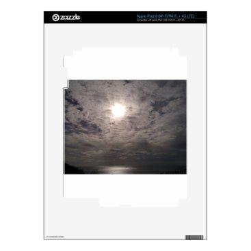 Beach Themed heavenly clouds iPad 3 decal