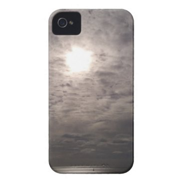 Beach Themed heavenly clouds iPhone 4 case