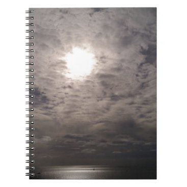 Beach Themed heavenly clouds notebook
