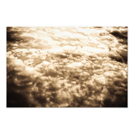 Heavenly Clouds Photo Print