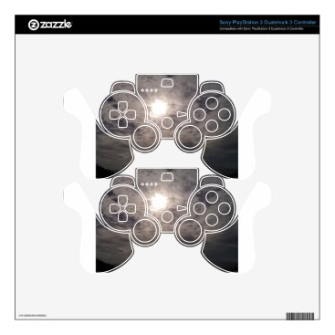 Beach Themed heavenly clouds PS3 controller skin