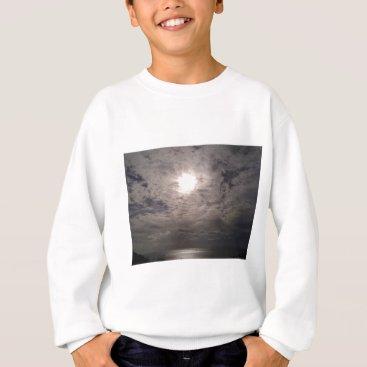 Beach Themed heavenly clouds sweatshirt