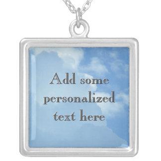 Heavenly Cloudscape Necklace