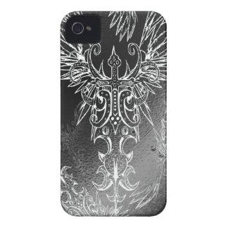 Heavenly Cross Black iPhone 4 Case-Mate Cases