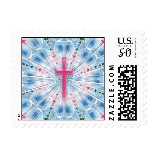 HEAVENLY CROSS POSTAGE STAMPS