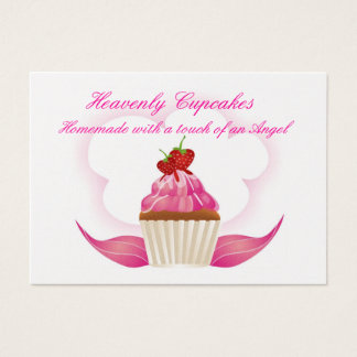 Heavenly Cupcakes Business Card