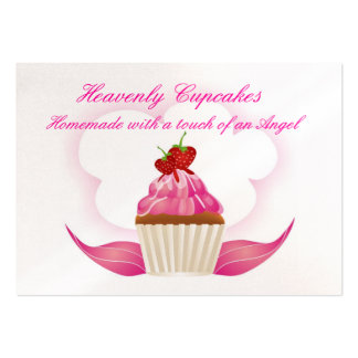Heavenly Cupcakes Business Card Templates