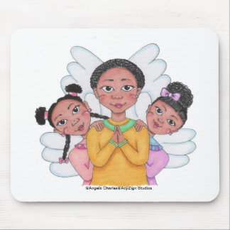 Heavenly Cuties Mouse Pad