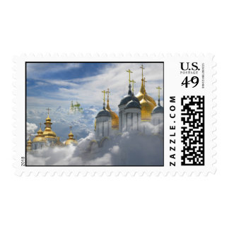 Heavenly Domes Easter postage