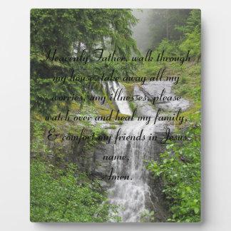 heavenly father home prayer Plaque