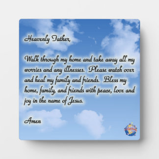 Heavenly Father Plaque