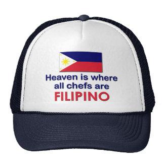 Heavenly Filipino Chefs Trucker Hat