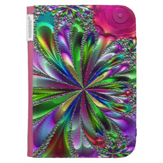 Heavenly Fractal Ribbons Kindle Folio Cases For The Kindle