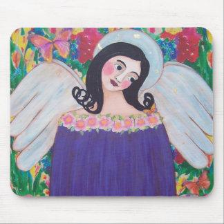 HEAVENLY GARDEN ANGEL MOUSEPAD