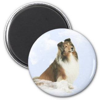 Heavenly Grace Sheltie Magnet