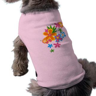 Heavenly Hula Flowers Pet Clothing