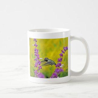 Heavenly Hummingbird Classic White Coffee Mug