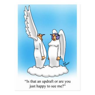 Heavenly Humor Angel Cartoon Gift! Postcard