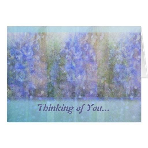 Heavenly Hyacinths Card