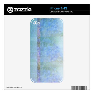 Heavenly Hyacinths Skin For iPhone 4