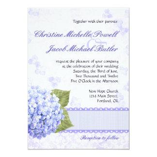 Heavenly Hydrangea - Wedding Invitation