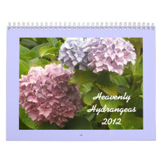 Heavenly Hydrangeas 2012 Calendar