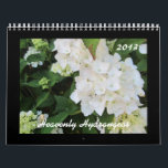 """Heavenly Hydrangeas 2013 Calendar<br><div class=""""desc"""">A collection of 12 months of beautiful hydrangeas. A multitude of beautiful colors sure to delight any flower or nature lover.</div>"""