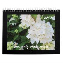 Heavenly Hydrangeas 2013 Calendar
