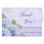 Heavenly HydrangeaThank You Cards