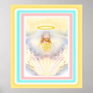 Heavenly Jesus Poster