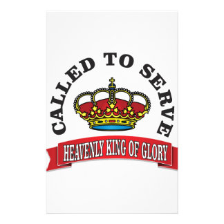 heavenly king of Glory Stationery