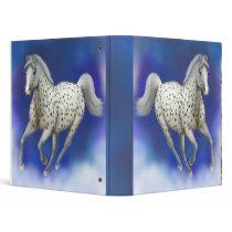 Heavenly Leopard Appaloosa Horse Binder