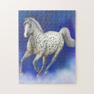 Heavenly Leopard Appaloosa Horse Puzzle